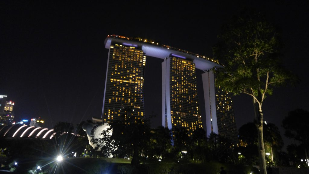 gardens by the bay, Marina Bay Sands Singapore, singapore