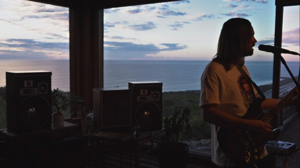 Kevin Parker at Tame Impala Album Debut in Innerspeaker 10th Anniversary (Live From Wave House)